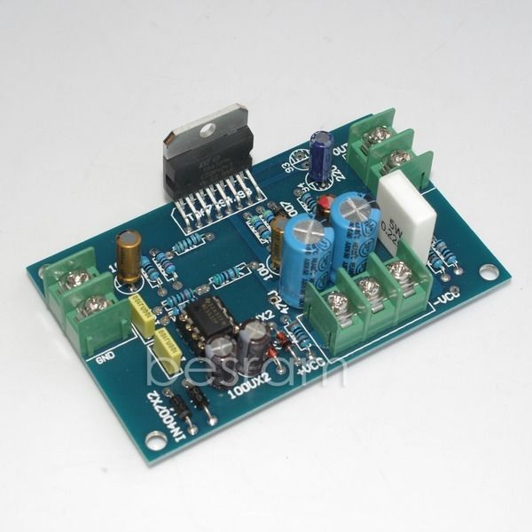 TDA7294 DC servo current stereo amplifier board 100W +/-30V-+/-35V NE5532N(China (Mainland))
