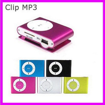 Clip MP3 Player Without TF Card Slot high quality Electronic Products sport Metal mini MP3 (only a Mp3)