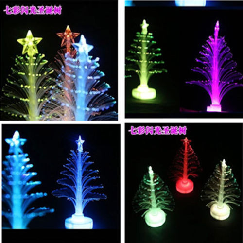 Color Changing Fiber Optical LED Light Christmas Xmas Tree Lamp Decoration NEW - We Are The World Good To See You store