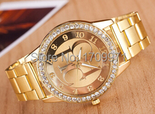 New fashion Women's watches women luxury brand quartz watch steel diamond women dress watches gift Relogio Masculino Reloj Mujer