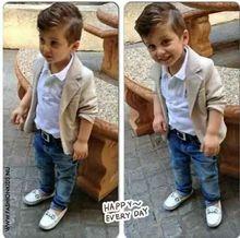 Retail 2015 Baby boy gentleman suit new autumn 3pcs Shirt + vest+trousers boy clothing set(China (Mainland))