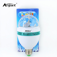 Buy ANJOET E27 3W 220V multicolor auto Rotating RGB Bulb Stage Light Xmas Party Lamp Full Color Laser Disco DJ Party Holiday Dance for $3.77 in AliExpress store