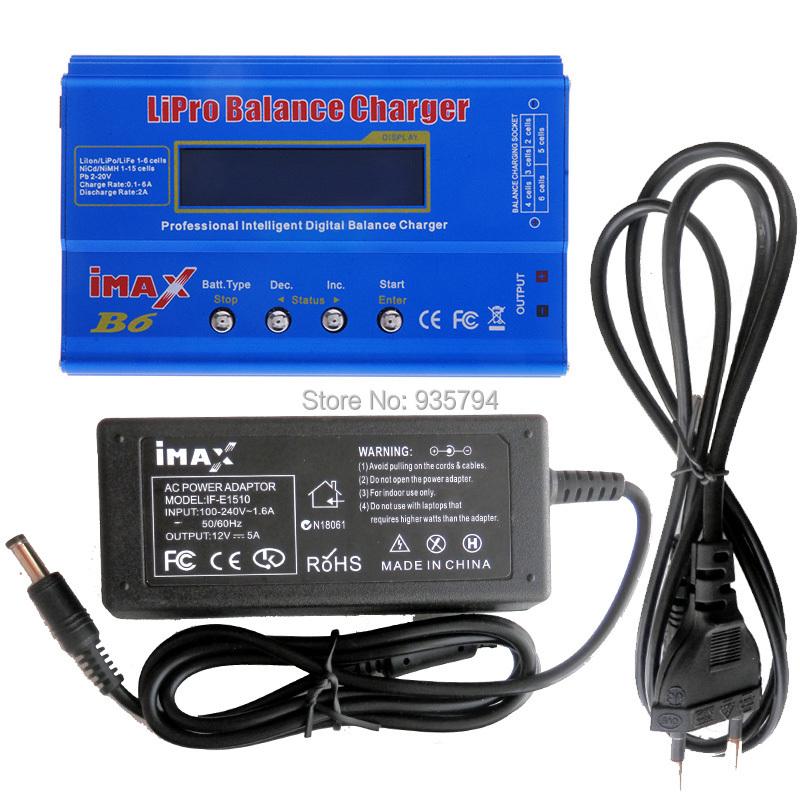 w// OEM AC Adapter SKYRC iMAX B6 Mini 1-6 cell Li-Po Battery Balance Charger