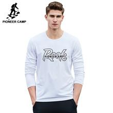 Pioneer Camp 2017 новое поступление мужская футболка с длиным рукавом веснняя футболка высокого качества ACT701024(China (Mainland))