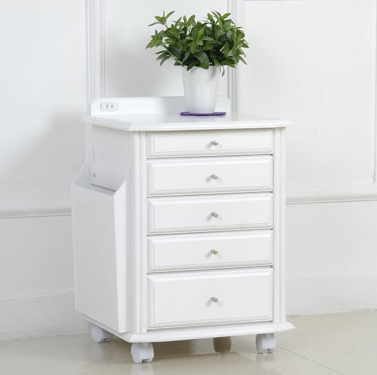 Small table simple modern side cabinet fashion corner cabinet wood IKEA small cabinets Storage Boxes wooden Jewelry box(China (Mainland))