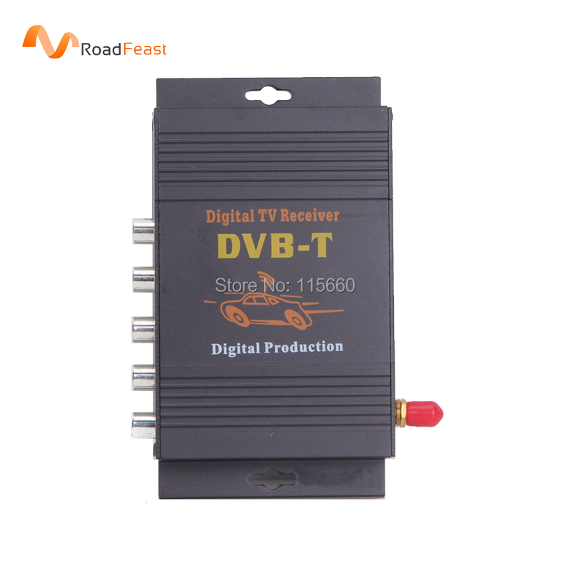 Car DVB-T MPEG-4 DVBT Car Digital TV Tuner Receiver for Europe Middle East Australia(China (Mainland))