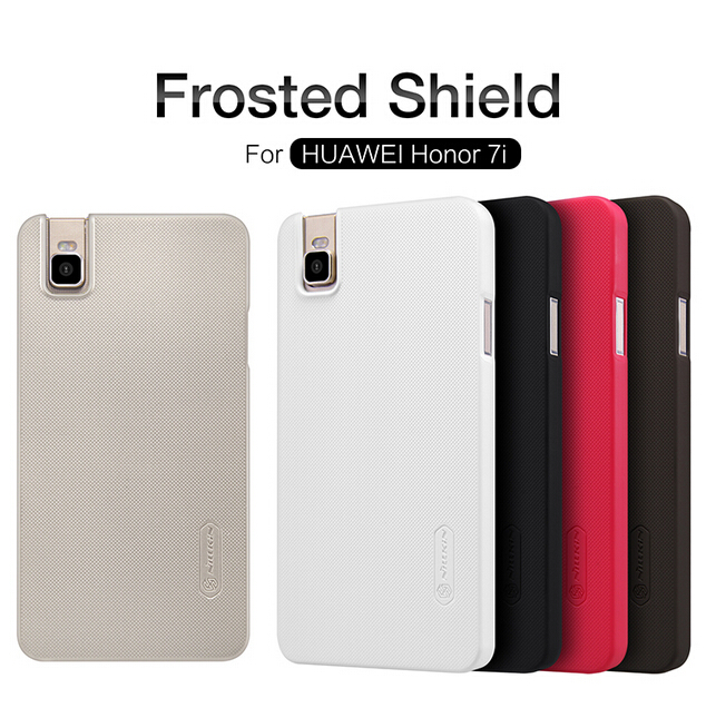 For Huawei Honor 7i case for Huawei 7i Frosted Shield Nillkin phone cases for Honor 7i protective cover + free protective film(China (Mainland))