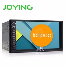 "Joying 7"" Double 2 Din Android 5.1.1 Lollipop Universal Car Radio Quad Core 1024*600 HD Car GPS Navigation Best Head Unit(China (Mainland))"