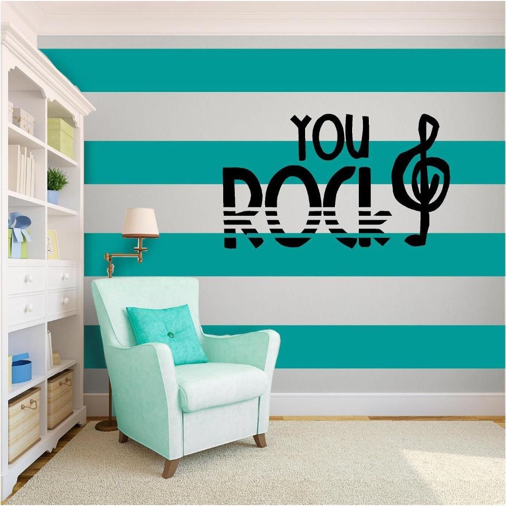 Popular rock bedroom decor buy cheap rock bedroom decor - Pintura azul turquesa ...