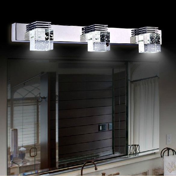 2014 indoor lighting fixture wall lamp mirror Crystal light living bathroom des appliques 9w Wandleuchte - ShenZhen Happy Shopping Trade Company store