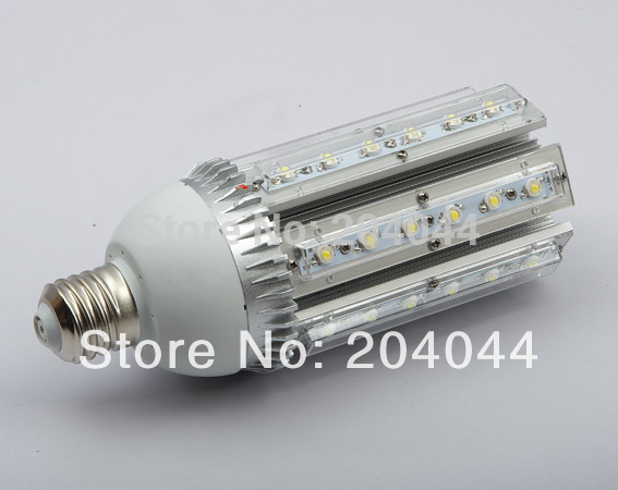 Free Shipping: 2pcs/lot E40/27 Base Round Led Street Light Bulbs With 36*1w Power, 85 To 265v Ac Voltage, Ce And Rohs-certified <br><br>Aliexpress