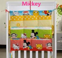 Buy Promotion! Kitty Mickey 62*52cm Waterproof Baby Pram Stroller Nylon Bag Diaper Storage Bag,baby bedding set for $12.90 in AliExpress store
