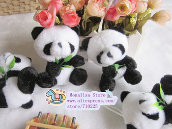 Wholesale Freeshipping bamboo panda plush toy doll small novelty festive wedding gifts christmas gift gifts  PT3006 T