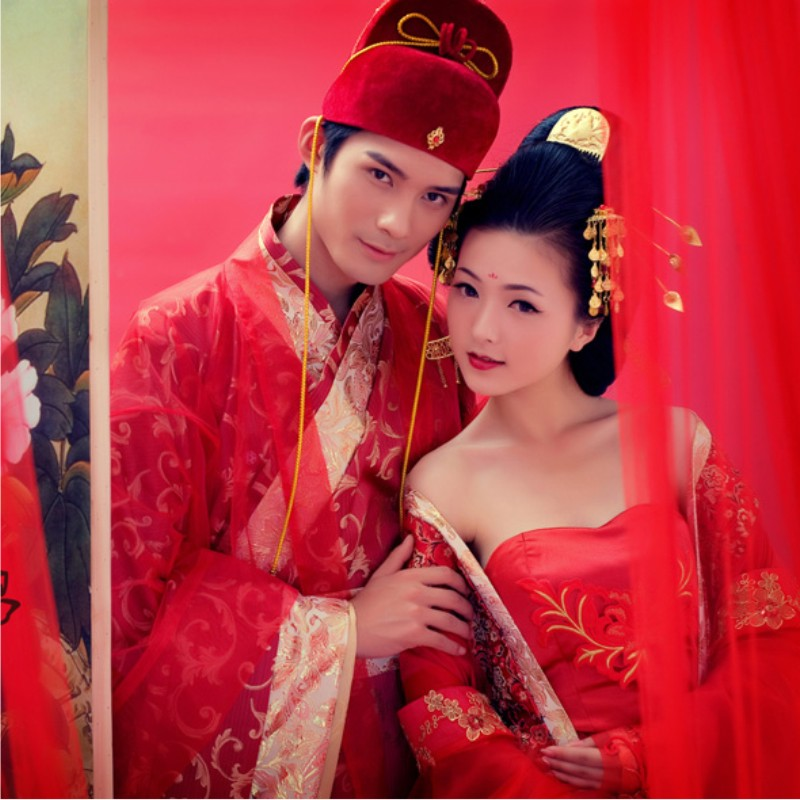 Red costume chinese traditional styleОдежда и ак�е��уары<br><br><br>Aliexpress