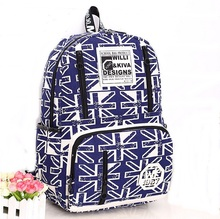 New Women Canvas Backpack Outdoor Sport Travel Backpacks England Style School Bag For Teenage Boy Girl Mochila Sac A Dos 2016