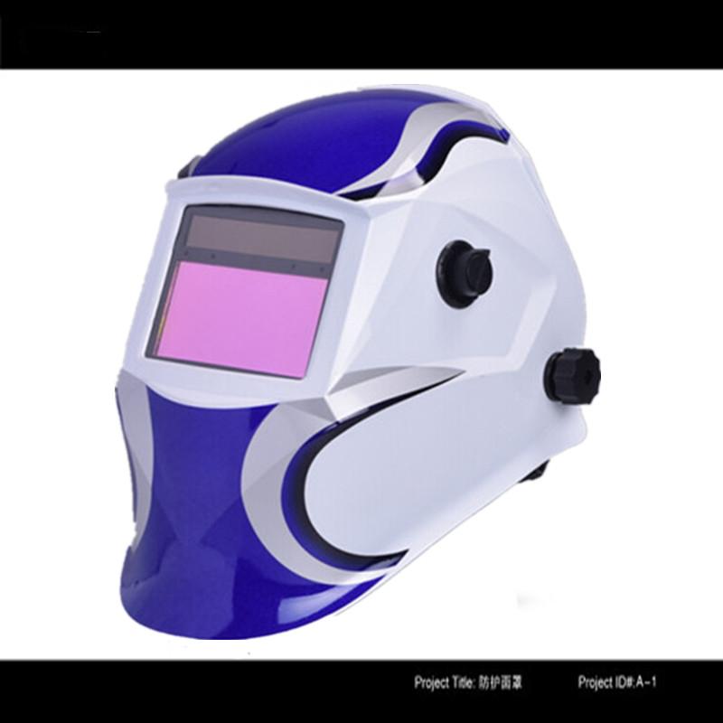 solar power auto darkening TIG MIG MMA MAG welding helmet welding shield welding mask welder cap(China (Mainland))