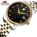 TEVISE Men Automatic Mechanical Watch Famous Brand Men Business Watch Waterproof Watches Clock Stainless Steel Wristwatches