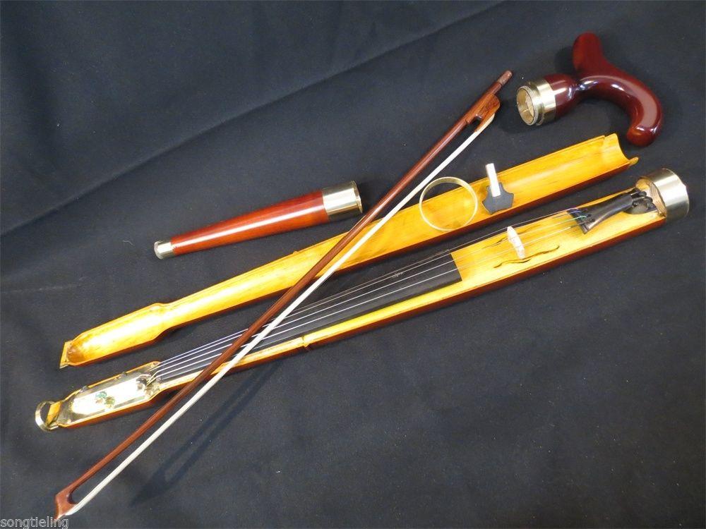 Copy of old Walking Stick Cane Violin Pochette Canne -Violon(China (Mainland))