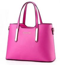 2015 brand genuine leather women messenger bag women leather handbags desigual vintage casual lady bag solid