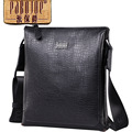 Pabojoe brand 100 Genuine Leather fashion Men Messenger Bag Shoulder Bag cow leather bolsa feminina free