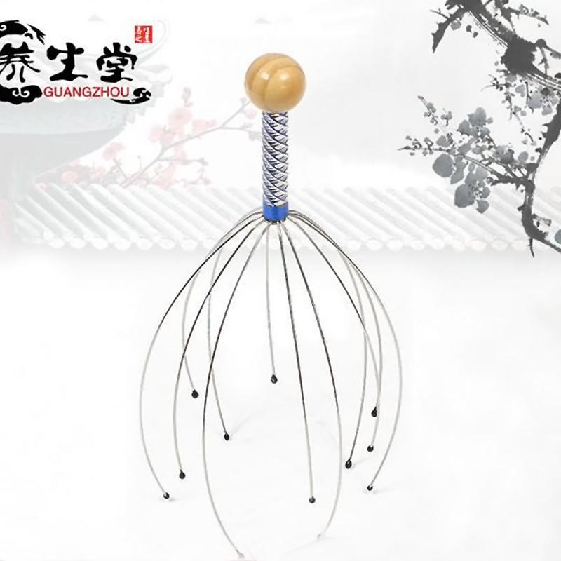 New Head Neck Scalp Equipment Stress Relax Massage Massager#EC028(China (Mainland))