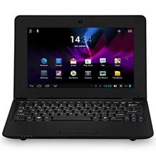 Nuevo diseño de la alta calidad 1088 Android 4.2 Netbook via WM8880 Dual Core 1.5 GHz WSVGA pantalla 4 GB ROM WIFI Camer(China (Mainland))