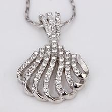 Jewlery Handmade Austrian Crystal Necklace 18K Platinum Plated Rhinestone Crystal Fashion Jewellery 18KGP N078 N139