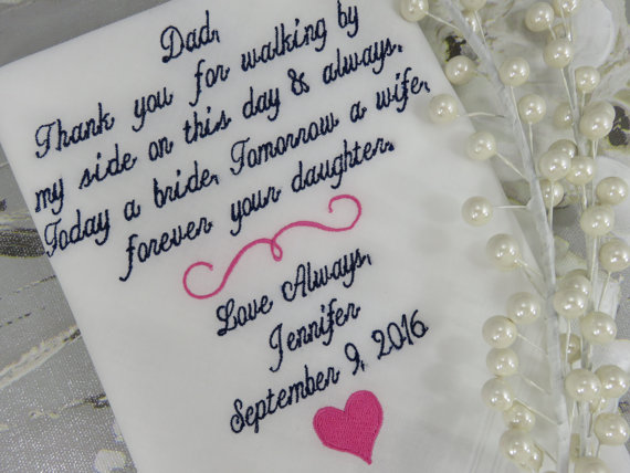 Chinese Wedding Gifts For Brides Parents : ... wedding father-in-law handkerchiefs Bridal hankies hanky gifts(China