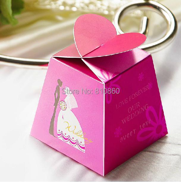 50PCS/LOT Sugar Box Holiday Supplies Home Decor Festive & Party Supplier Candy Box Wedding Decoration(China (Mainland))