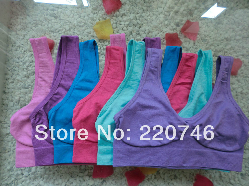 9colors 1pcs promotion hot sell ahh bra, As seen on TV seamless comfortable bra for sports and sleep opp package(China (Mainland))