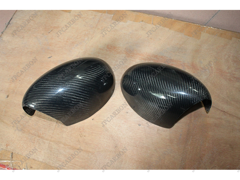 Carbon Fiber Tape-on Side Mirror Covers Mini (For 2007-2013 Cooper R55 R56 R57 Manuel Folding)