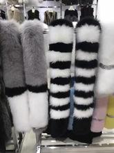 American Luxury fur scarf italy New design women fur scarf real fox fur shawl shrug/ oprispalle pelliccia real()