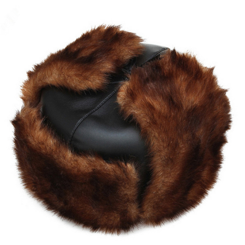 Winter Hat Bomber Hats For Men Women Outdoor Thickening Cotton Fur Winter Earflap Keep Warm Snow Caps Russian Ski Bomber Hats(China (Mainland))