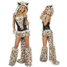 free shipping ,wholesale top quality  sexy animal costume m4529