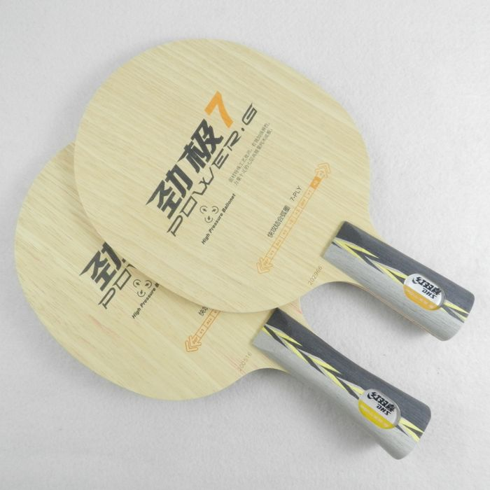 Free shipping DHS Power G7(PG7, PG 7) pure wood new table tennis blade(China (Mainland))