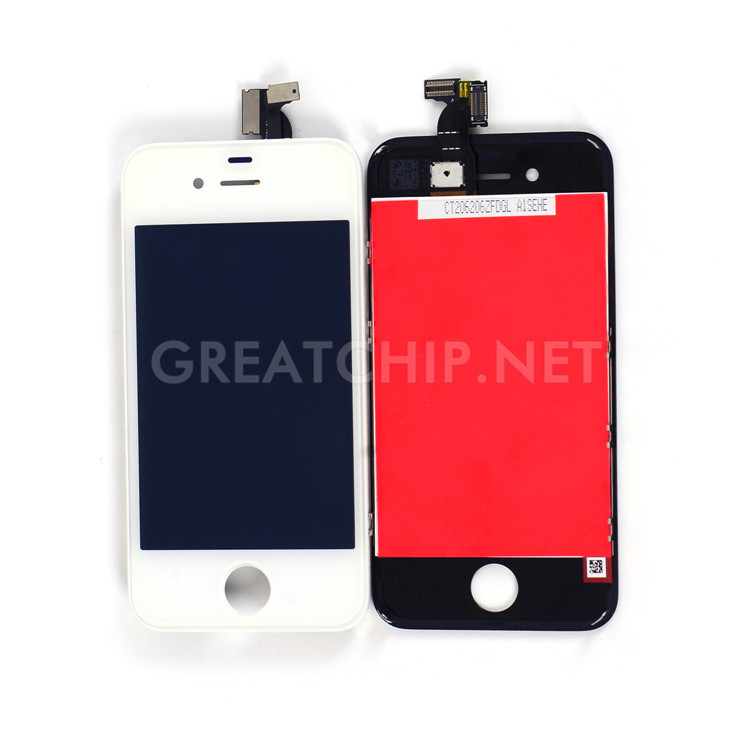 Replacement Touch Screen LCD For iPhone 4g For iPhone 4s LCD Frame Digitizer Assembly Panel(China (Mainland))