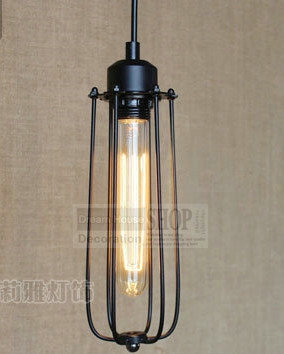 110-240v Art Deco Vintage Industrial Antique Metal Cage Pendant Light Factory Wire Steel Lampshade lamps new 2015 pendentes luz