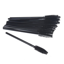 100pcs/lot Glad Lash Cosmetic Eyelash Extension Disposable Mascara Wand Brush Wands Makeup Applicator Lash Make Up Tool