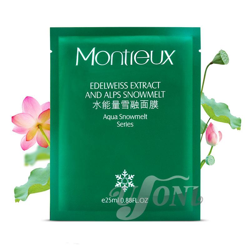 Montreux Snail White Mask Skin Care Snowmelt Energy Moisturizing Mask Snail Silk Mask Free Shipping 2016 Hot 10 PCS Facial mask(China (Mainland))