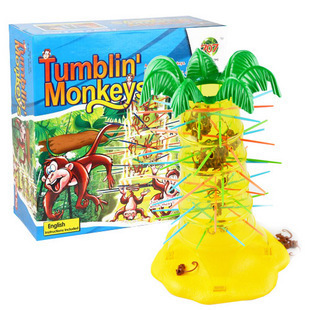 children 3 6 years old table games tipper monkey monkey