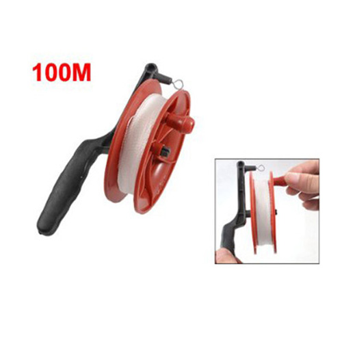 Promotion ! 100M Twisted String Line Red Wheel Kite Reel Winder(China (Mainland))
