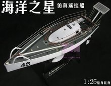 High simulation rc boat Sailboat ship surfing Sailboat 3channel Retro designed,solar,color box display collection nice kids gift(China (Mainland))