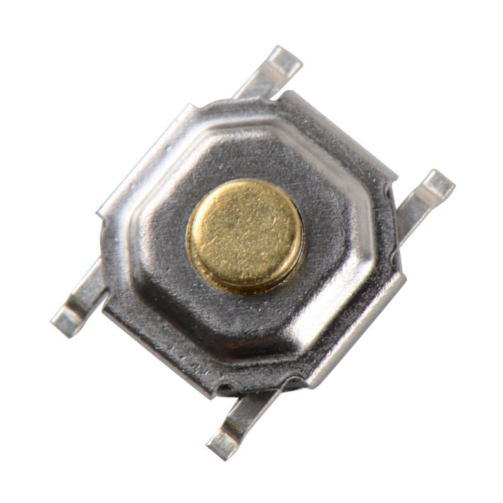100 pcs 4*4*1.5mm Tactile Push Button Switch Tact Micro Switch 4-Pin SMD VE144 P0.5(China (Mainland))