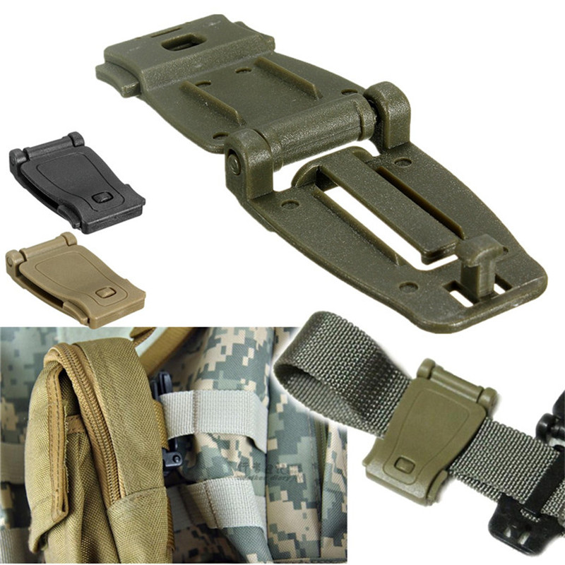 2015 Hot Sale Newest 1pc Molle Strap Backpack Bag Webbing Connecting Buckle Clip 26mm Strong High Quality(China (Mainland))