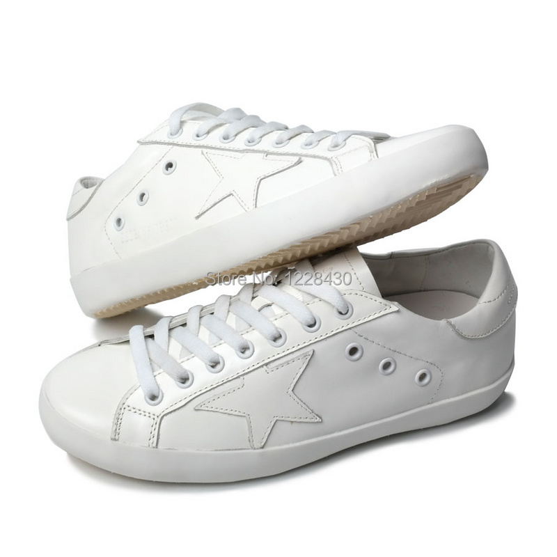 New Golden Goose  boys grils  genuine cow leather shoes retro shoes vintage casual shoes leisure shoes limited white<br><br>Aliexpress