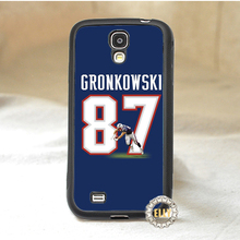 rob gronkowski jersey 3 fashion mobile case cover for Samsung galaxy S3 S4 S5 S6 S7 Note 2 Note 3 note 4 *pH223(China (Mainland))