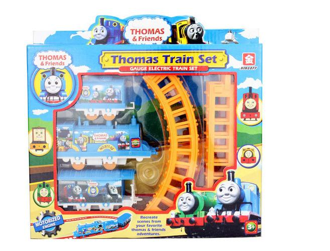 New Thomas Electric Train Track Risky Rail Bridge Drop Play Set Toy For Kids Boy Children's gifts free shipping(China (Mainland))