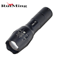 USA EU Hot YF L2 CREE XML T6 LED 3800LM Aluminum Zoomable Flashlights Torches lamplight for