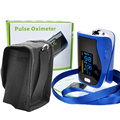 Newest Design Portable Finger Pulse Oximeter Oximetro de dedo digital WITH CASE SPO2 PR PI Pulsioximetro