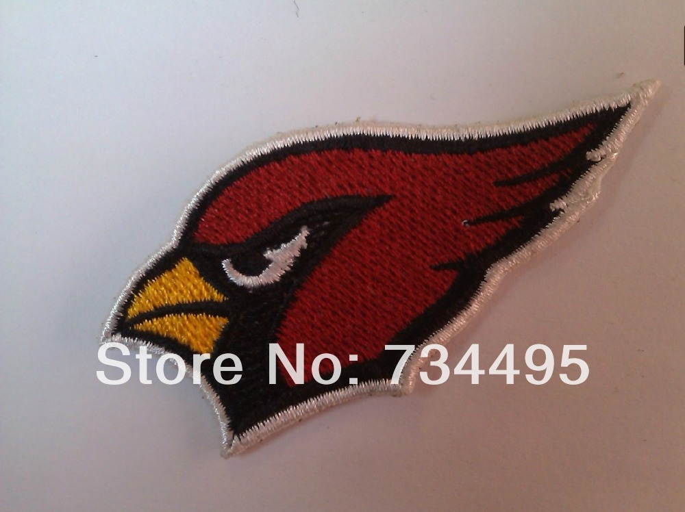 North America professional baseball Cardinals national team logo Computer embroidery mark,Fans football team badge cloth patches(China (Mainland))